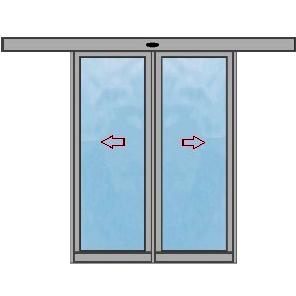 Раздвижных дверей