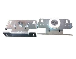 001SIPA16 Тележки подвеса роликовые для SIPARIO с замком ремня 2шт