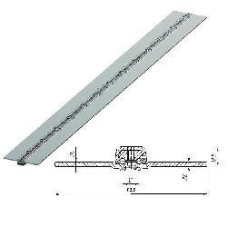 80039U/M Петля калиточная алюминиевая усиленная L=2500mm