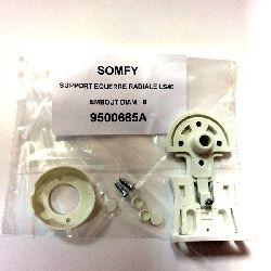 Крепление 9500685 для LS40 белое для гильзы D=8mm пластиковое ответное