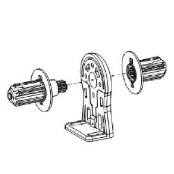 Крепление промежуточное 9500687 для LS40 в комплекте с гильзами
