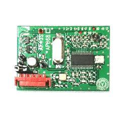 Радиоприемник CAME AF43S встраиваемый для TOP44RGR. Частота 433,92 МГц.