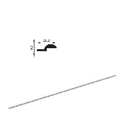 """AHDS35 2010BP/M Профиль алюм. """"Рельс"""" без покрытия"""