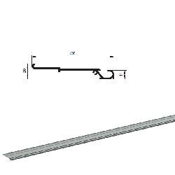 """AHDS35 2012BP/M Профиль алюм. """"Несущий примыкание привода AD-SP"""" без покрытия"""