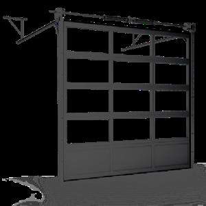 ISD02 панорамные секционные ворота