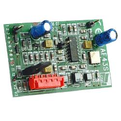 Радиоприемник CAME AF43TW встраиваемый для 001TW2EE и 001TW4EE. Частота 433,92 МГц.