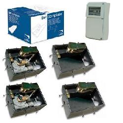 CAME SUPER FROG привод скрытый комплект (створка до 1500кг до 8м)