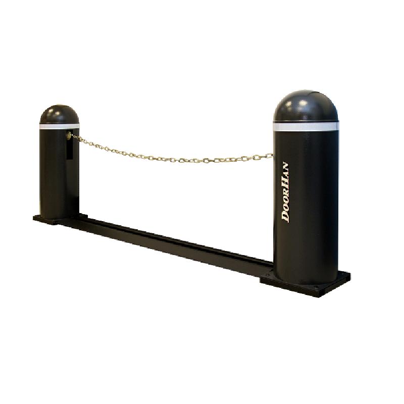 Chain-barrier7-base Комплект цепного шлагбаума / 7,5 метров /