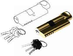 Цилиндр 30/30 симметричный с вертушкой CL30/30P