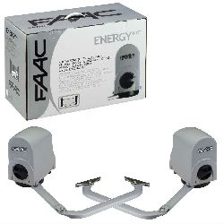 FAAC 391 KIT привод комплект (створка ширина до 2.5м, 300кг)