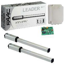 FAAC 402 СВС KIT привод комплект (створка ширина до 1.8м, 800кг)