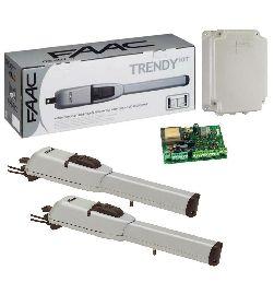 FAAC 413 LS привод комплект (створка ширина до 2.5м, 400кг)