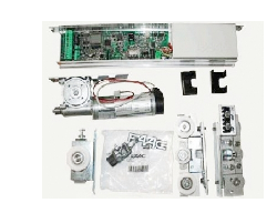 FAAC A100 комплект привода для раздвижных дверей с одной створкой шириной до 2,1 м, весом до 110 кг