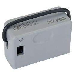 Приемник FAAC XF868 (память на 250 пультов)