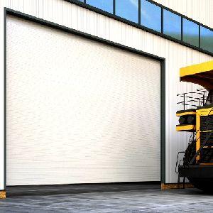 ISD03 промышленные секционные ворота больших размеров
