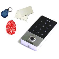 KEYFREM Кодовая клавиатура со встроенным считывателем отпечатков пальцев и карт (EMarine)