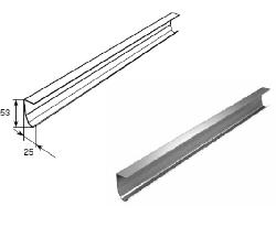 Направляющая вертикальная облегченная 21100B/M