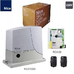 NICE ROX1000KIT комплект привод для ворот до 1000кг.