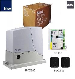 NICE ROX600KLT комплект привод для ворот до 600кг.
