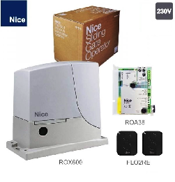 NICE ROX600 комплект привод для ворот до 600кг.