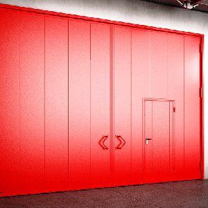 Противопожарные распашные ворота