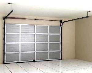 RSD02-SLP гаражные ворота из однослойных панелей