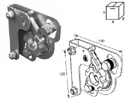 Устройство защиты SSD-210L от разрыва левой пружины Medium