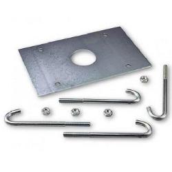 NICE XBA17 анкерная пластина для LBAR с крепежом